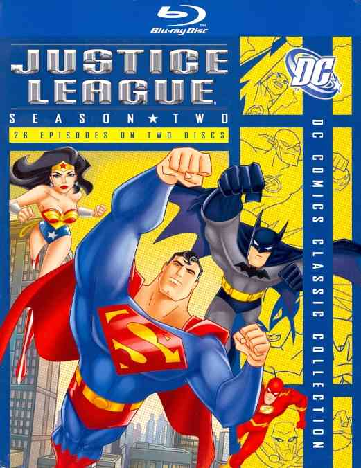 JUSTICE LEAGUE:SEASON 2 BY JUSTICE LEAGUE (Blu-Ray)